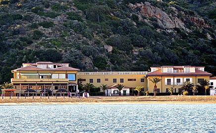 Das Hotel und die Giglio Insel